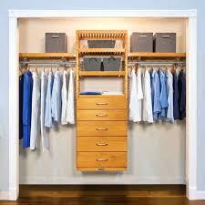 john louis closet organizer john home deluxe inch honey maple 5 drawer closet organizer free