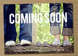 free ecard pregnancy announcement coming soon pregnancy announcements with shoes theme wahagent
