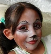 cat face paint kitty cat arcfestés minták more