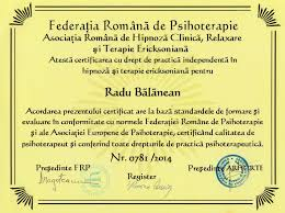 relaxare și psihoterapie ericksoniană arhte diploma de ologie universitatea de cină și farmacie iuliu hațieganu cluj napoca