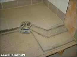 tile shower pan build a tile shower from scratch a top best shower pan ideas on tile shower pan leak repair