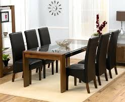 white extending dining table with 6 oatmeal chairs room used set and rectangular solid acacia dining room set table 6 chairs