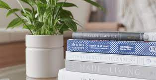 how to style coffee table books like a
