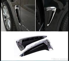 custom car door handles. Chrome Side Body Marker Fender Air Wing Vent Trim M Cover For Bmw X5 2014 2017 Custom Exterior Car Door Handles Truck Accessories From Jianminyang,
