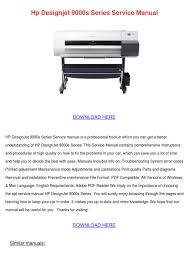 Hp Designjet 430 Error Lights Hp Designjet 9000s Series Service Manual By Alicawilley Issuu
