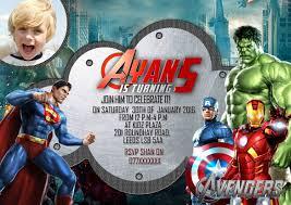 Personalized Superhero Birthday Invitations 19 Superhero Birthday Invitations Free Psd Vector Eps Ai