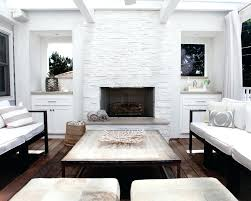 modern stone fireplace stacked surround bower power designs modern stone fireplace