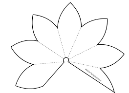 Pin By Galilee Lutheran Church On Lent Easter Flower Template