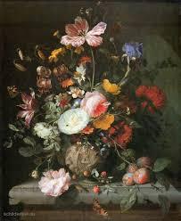 Afbeeldingsresultaat voor schilderij bloemen