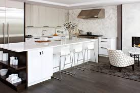 Exellent Modern White Kitchen Contemporarykitchen W To Decorating