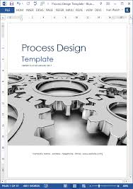 business process template business process design 101