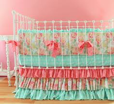full size of mint baby bedding mosaic rose crib bedding set modern neutral crib bedding mint