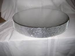 Bling Wedding Cake Stand 20 inch