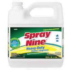 Spray Nine Heavy Duty Cleaner Degreaser Disinfectant