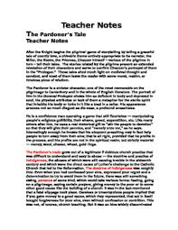 the pardoner s tale page packet tests worksheets essay etc  chaucer the pardoner s tale 22 page packet tests worksheets essay etc