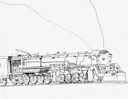 new coloring pages steam locomotive free 8 q chinook hobby talk my favourite