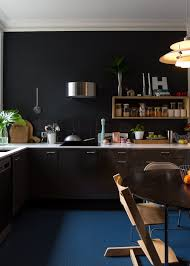 Image Wooden Kitchen Apartment Therapy The Best Black Paint For Kitchen Cabinets Apartment Therapy