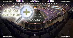 Talking Stick Park Seating Chart Talking Stick Resort Arena Us Airways Center Seat Row