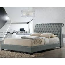 ... Button Tufted Upholstered Headboard Our Designer Bed Shines With  Fabulous Features A Scroll Back Queen Sized ...