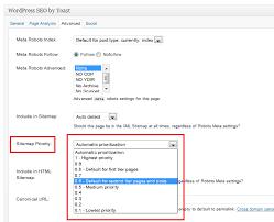 wordpress seo yoast change xml sitemap priority for taxonomy stack overflow