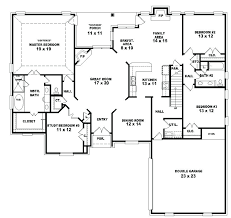 4 bedroom home plans 4 bedroom 2 bath house plans photo 1