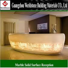 spa led reception front desktablecounter acrylic lighted reception desk reception counter design