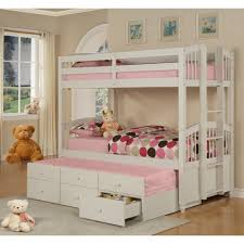 ... Bunk Beds With Storage Stairs Girls Home Decor Drawers And Stairsgirls  97 Shocking Photos Design