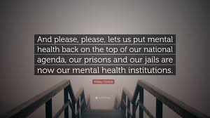 "Mental Health Quotes Enchanting Hillary Clinton Quote ""And Please Please Lets Us Put Mental"