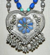 vintage tibetan silver turquoise lapis