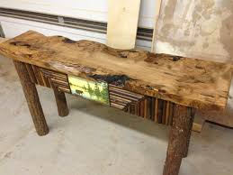 sofa table with storage. Image Of: Long Rustic Sofa Table With Storage