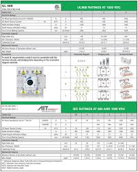 electroswitch switches relays rco s inc series5000chart