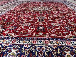 9 of 12 8x11 red antique hand knotted persian rug wool rugs iran woven made blue 8x10 ft