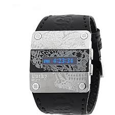 lucky brand men s black leather watch shipping today lucky brand men s black leather watch