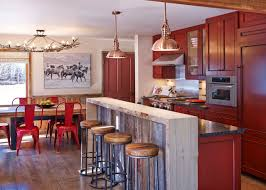 Red And Gold Kitchen Aspen Gold Kitchen Design Colorado Quicuacom