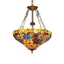 Tiffany Style Pendant Light Vintage Design Living Room Dining Room