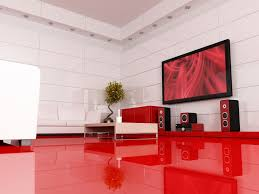 Entertainment Room Design Amazing Modern Entertainment Room With Over Size Black Framed Lcd
