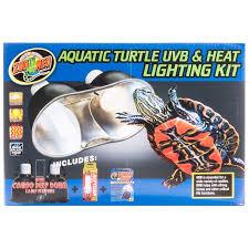 zoo med zoo med aquatic turtle uvb heat lighting kit