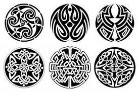 Tetovací Ornament Starobylý Styl Tetování