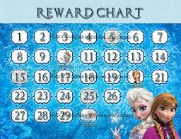 Elsa Potty Training Chart Personalized Disney Frozen Valentines Day Card Digital File