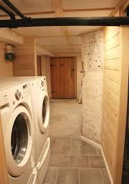 small basement laundry room impressive makeover unfinished46 makeover