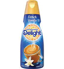 Whitewave foods has a core list of flavors including amaretto, belgian white chocolate macadamia, caribbean cinnamon creme, dulce. French Vanilla Coffee Creamer