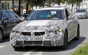 2018 bmw 3. exellent 2018 spyshot allnew 2018 bmw 3 series g20 shows off production lights with bmw