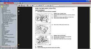 toyota corolla service repair manual wiring diagram wiring 1997 toyota corolla wiring diagram wire