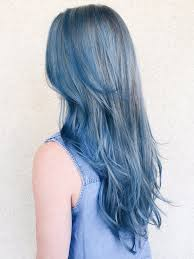 Hairstyle Color why the new denim hair color trend could work for you instyle 8497 by stevesalt.us