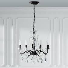 rustic crystal pendant chandelier swag plug in lamp lighting ceiling fixture