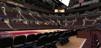 Cavs Seating Chart View Rocket Mortgage Fieldhouse Section 9 Row 1 Cleveland