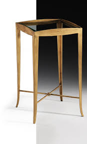 wrought iron accent table in antique gold leaf finish occasional table ideas