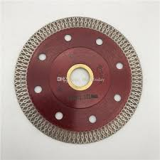 hot diamond saw blade 4 inch 105 mm ultra thin thickness 1 2 mm cutting disc for porcelain ceramic tile blade inner hole 22 23 mm saw blade diamond saw