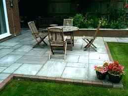 enchanting outdoor flooring ideas patio amazing slate tiles floor for traditional within inspirations over grass temporary