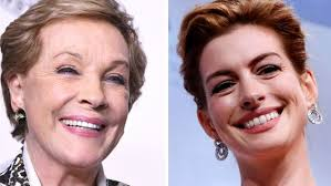 anne hathaway right wished julie andrews her co star from